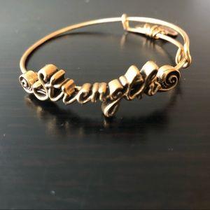 NWOT Alex and ani bangle bracelet
